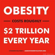 Food Revolution - Obesity Cost