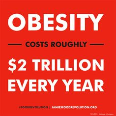 Food Revolution - Obesity Cost