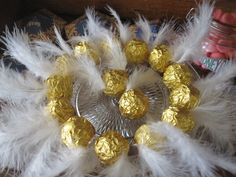 Vif d'or en chocolat