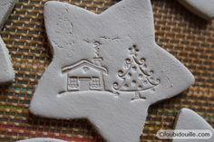Christmas Ornaments - Argile - décoration Noël - Enfant - facile - DIY