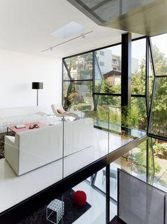 Maison en verre à San Francisco