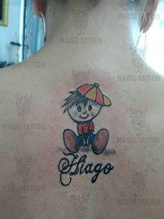 tattoo boneca palito com nome - Pesquisa Google