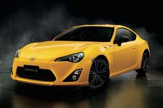 Japan Gets This Cool Toyota 86 Yellow Limited Edition