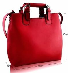 c118a9b67bd7 Red tote bag from Kandifloss
