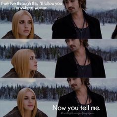 "Kate & Garret in ""The Twilight Saga: Breaking Dawn Part Twilight Saga Quotes, Twilight Saga Series, Twilight Cast, Twilight Breaking Dawn, Breaking Dawn Part 2, Twilight New Moon, Twilight Movie, Jasper Twilight, Twilight Pictures"