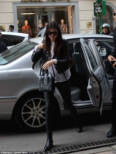 Kendall  in the Italian city on Saturday
