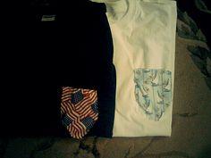 DIY pocket t shirts