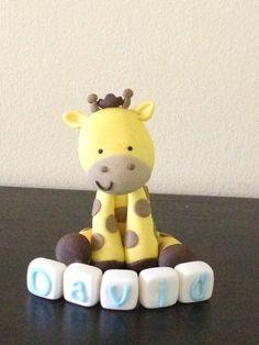 Hey, I found this really awesome Etsy listing at https://www.etsy.com/listing/123501673/fondant-baby-giraffe-sugar-cake-topper