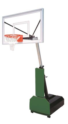 First Team Fury Select Adjustable Portable Basketball Hoop 60 inch Acrylic from NJ Swingsets
