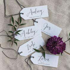 Evergreen Flower Co Wedding Name