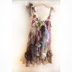 Reserved for Rosy Elegant Beautiful Art Floaty Tunic by Paulina722, $220.00