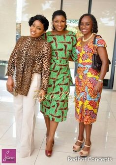 Stars at Invest Africa's Meet & Greet in Lagos - February 2014 - BellaNaija - 021 African Wear, African Style, African Attire, African Women, African Dress, Ethnic Fashion, African Fashion, Ankara Styles For Women, African Traditions