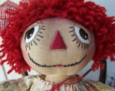 Raggedy Ann ...Raggedy Ann and Andy dolls came in all sizes for girls and boys...read the comics and books, too!
