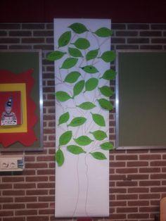 Wendy Steenbeeke@wendysteenbeeke     Mooie WENSboom in groep 7. GOED om te zien wat kinderen elkaar wensen. Heel boeiend draagt bij aan een fijn klimaat.