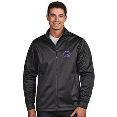 Boise State Broncos Antigua Golf Full-Zip Jacket - Charcoal - $94.99