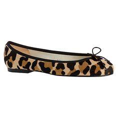 bc468e151b002 Buy French Sole Henrietta Leather Pumps, Brown Jaguar Online at  johnlewis.com Leopard Print