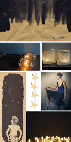 night sky... images credited on my blog.