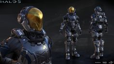 Halo 5: Buccaneer armor by profchaos354