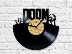 Vinyl Clock - MF DOOM