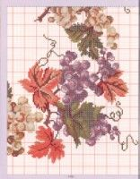 tablecloth pinned from lutarcik. Cross Stitch Fruit, Cute Cross Stitch, Cross Stitch Charts, Cross Stitch Designs, Cross Stitch Patterns, Needlepoint Designs, Needlepoint Stitches, Needlework, Cross Stitching