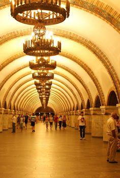 The Most Inspiring Metro Stations around the World, Zoloti Gate Station, Kiev (Ukraine)