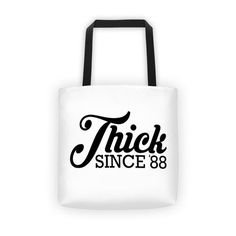 Thick Since Tote Bag Reusable Tote Bags, Accessories, Jewelry Accessories