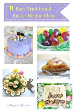 Traditional Easter Dinner Ideas: Making your plan for Easter Dinner? Here are 11 Traditional Easter Dinner Ideas with Recipes and a Free Easter Dinner Planner to make the whole process quick & easy. #planner #easterdinner #mealplanning