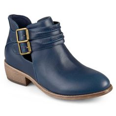 Journee Collection Shay Women's Ankle Boots, Size: 6.5, Blue