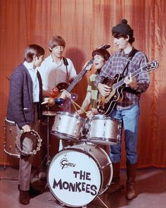 The Monkees, love these guys!!!!! Childhood memories of their tv show were the best!!!