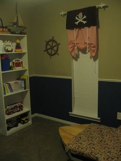pirate nursery ideas for boys | Pirate's Life For... Cheap! - Boys' Room Designs - Decorating Ideas ...