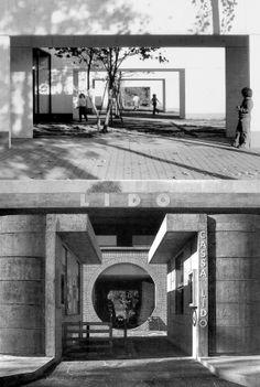 Livio Vacchini| Primary school Ai Saleggi, 1972-1978 Locarno + Lido Patriziale, 1980-86 Ascona.