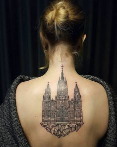 10+ Architecture Tattoos That'll Make You Want To Get Inked | Bored Panda