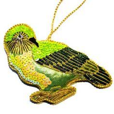 New Zealand Hand Made Kakapo Collectible Decoration Christmas Decorations, Christmas Ornaments, Holiday Decor, Art N Craft, Bird Art, Beautiful Birds, New Zealand, Dinosaur Stuffed Animal, African