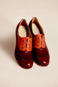 LOVE these ketchup-colored oxfords Wolverine 1000 Mile 8ab59118929