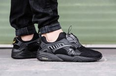 Just got these.... Soo excited to wear em! Puma Disc Blaze x Sophia Chang 'Brooklynite'