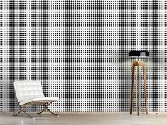 Design #Tapete Punkte Für Den Seestern Curtains, Shower, Prints, Design, Self Adhesive Wallpaper, Starfish, Dots, Wall Design, Wall Papers