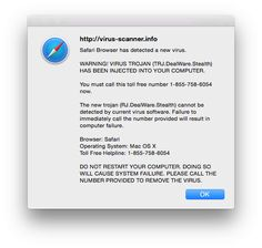 How to fix your Mac or iPhone after being infected with fake tech support popups