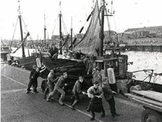 Haven van Scheveningen 1954