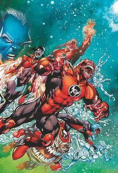 Red Lanterns by Ivan Reis