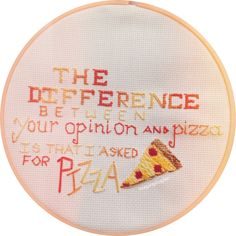 keepingituglier:  ✨I did some cross stitching✨