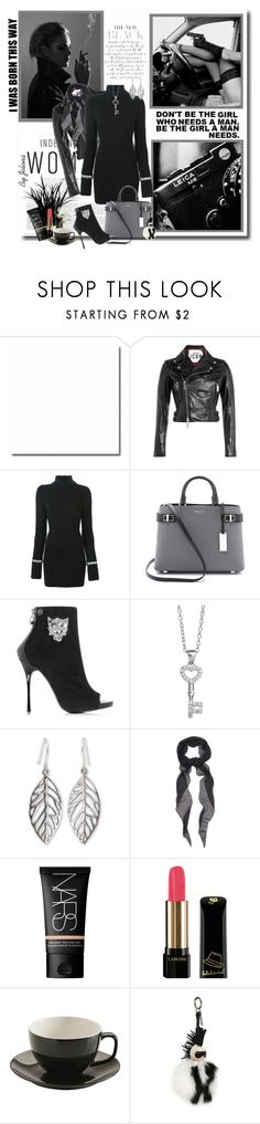 """Untitled #308"" by jelenalazarevicpo ❤ liked on Polyvore featuring JuJu, Dsquared2, Philipp Plein, Michael Kors, NOVICA, Givenchy, NARS Cosmetics, Lancôme and Fendi"