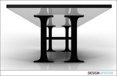 Typography Furniture