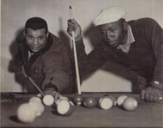 Campanella and Jim Gilliam Brooklyn Dodgers