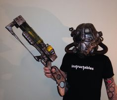 Here we are! Another instructable, and it's not a helmet, it is another prop from fallout 3 and fallout new Vegas, it's the aer9 lazer rifle, probably one of the better lazer weapons from the game, It was a bit of a challenge for me, it was also my first go at a prop weapon, I'm overall happy with it, but there's a lot of things I learned on this build and my next one should be even better, that's not to say this one isn't good, far from it, I fully enjoyed making it!