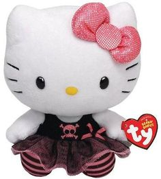 "Check out this item! I found it on RedLaser! TY INC Beanie Buddy Hello Kitty Punk 13"" Medium 90146 - 0008421901463 http://redlaser.com/lists/?list=0ac0782a-a1d7-48cc-9cd2-9191fb3bb91b"