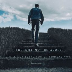 You will not be alone.