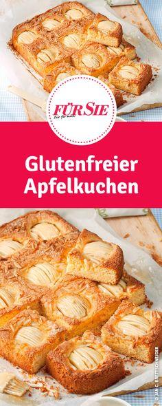 glutenfreier Apfelkuchen- einfaches Rezept Pimp, Dairy Free, Gluten Free, French Toast, Baking, Breakfast, Recipes, Food, Gluten Free Cooking