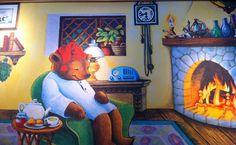 Sleepytime Tea - from the celestial seasonings tea box, Beth Underwood is the artist