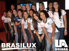 Brasilux e Uniara, parceria imbatível no vôlei feminino!