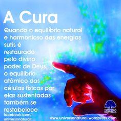 Quando o equilíbrio natural e harmonioso das energias sutis é restaurado pelo divino poder de Deus, o equilíbrio atômico das células físicas por elas sustentadas também se restabelece. #limpezaenergetica #mergulhointerior #universonatural